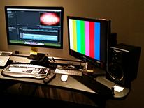 Image of editing room